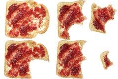 Pane tostato alimentare fotografia stock libera da diritti