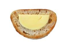 Pane tostato come sorriso Fotografie Stock Libere da Diritti