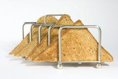 Pane tostato del Brown Fotografie Stock Libere da Diritti