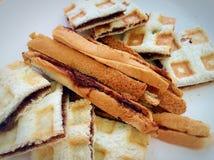 Pane tostato del cioccolato Immagini Stock Libere da Diritti