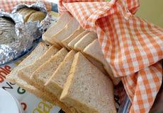 Pane tostato del grano intero Fotografia Stock