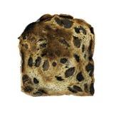 Pane tostato dell'uva passa Immagini Stock Libere da Diritti
