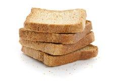 Pane tostato della prima colazione Immagini Stock Libere da Diritti