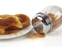 Pane tostato di cannella Immagini Stock
