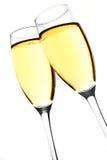 Pane tostato di Champagne Fotografia Stock
