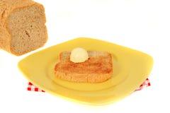 Pane tostato di mattina Fotografie Stock