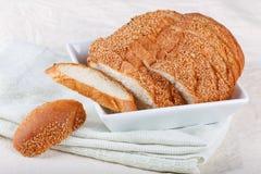 Pane tostato di pallacanestro Immagine Stock