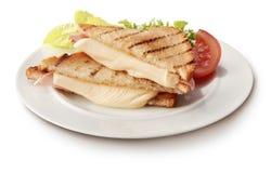 Pane tostato di Tasti Fotografia Stock Libera da Diritti