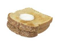 Pane tostato e burro Fotografia Stock Libera da Diritti