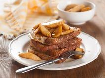 Pane tostato francese Fotografie Stock Libere da Diritti