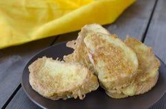 Pane tostato francese Immagini Stock