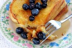 Pane tostato francese Fotografia Stock Libera da Diritti