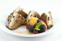 Pane tostato francese - farcito Fotografia Stock