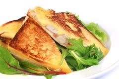 Pane tostato fritto francese Fotografie Stock Libere da Diritti