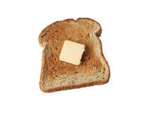 Pane tostato isolato Immagini Stock