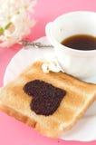 Pane tostato per la prima colazione Immagine Stock Libera da Diritti