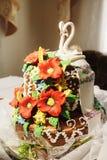 Pane ucraino di nozze Fotografie Stock