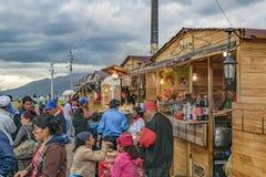 Panecillo Street Market Quito Ecuador Royalty Free Stock Photo