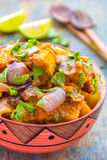 Paneer Curry / Cottage Cheese Curry. Paneer Do pyaza - popular Indian Cottage Cheese curry royalty free stock photography