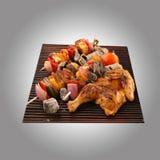 Paneer del pollo asado a la parilla Imagen de archivo