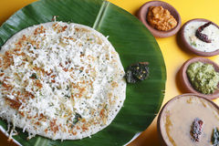 Paneer dosa - A pancake made with cottage cheese Stock Images
