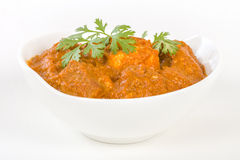Paneer Makhani. Indian cheese cooked in a creamy sauce Stock Image