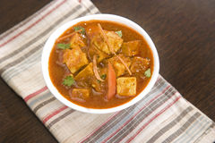 Paneer Masala or Cheese Stock Images