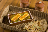 Paneer Masala with Peas Royalty Free Stock Image