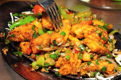 Paneer sizzler Stock Photo