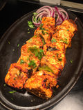 Paneer tikka Stock Photo