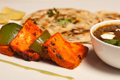 Paneer Tikka Kebab from India Royalty Free Stock Image