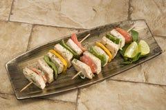 Paneer Tikka Kebab Royalty Free Stock Photos