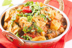 Paneer vegetable Jalfrezi Stock Photos