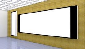 Panel And Wall Light Stock Image