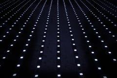 Panel av ljusdiod Arkivfoton