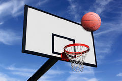 Panel of basketball Royalty Free Stock Images