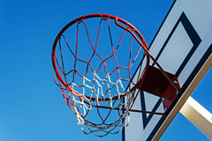 Panel basketball hoop-1 royalty free stock images