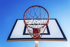 Panel basketball hoop-5 royalty free stock images