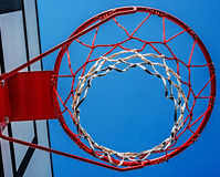 Panel basketball hoop-3 Royalty Free Stock Image