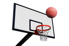 A panel of basketball Stock Photography