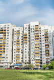 Panel buildings  built during communism period in Bulgaria Stock Photography