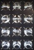 Panel of the bulbs in the lighthouse Marine Stock Photos
