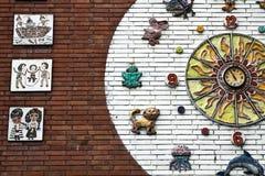 panel ściana Zdjęcie Stock