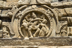 Panel of Dancing Shiva Stock Images
