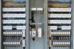 Panel de control  Fotografía de archivo