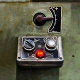 Panel de control  Foto de archivo