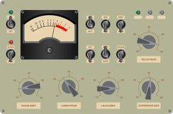 Panel de control Imagenes de archivo