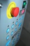 Panel de control Imagen de archivo libre de regalías