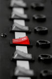 Panel de control  foto de archivo libre de regalías