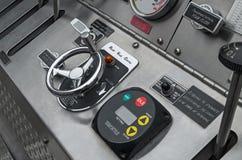 Panel de control de la bomba de fuego Fotos de archivo libres de regalías